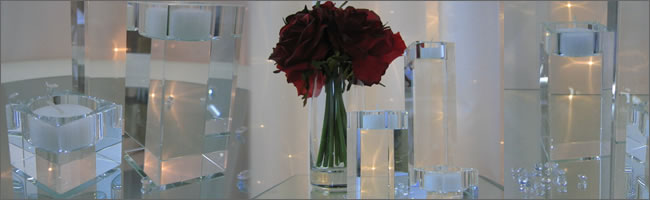 Crystal tealights for hire