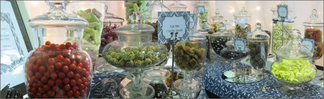 DIY Candy buffet package deal, Centrepieces, Auckland