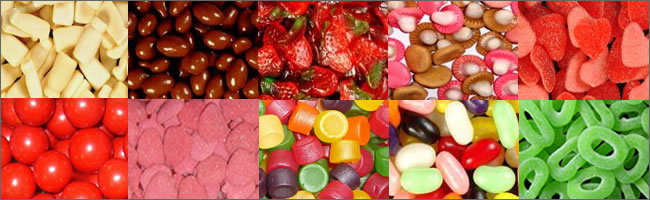 Select your sweets for your Corporate Candy Bar