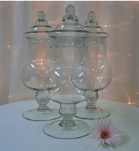Apothecary candy jar hire,  Candy Buffet Hire