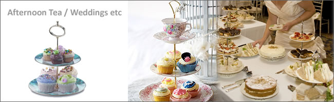 Vintage cupcake and cake stand hire, Auckland