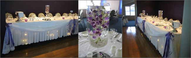 Wedding venue decoratiing on a budget, Centrepiece Hire