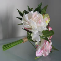 Pink peony flower bouquet for hire, Auckland