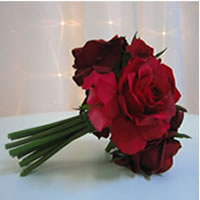 Red rose flower bouquet for hire, Auckland