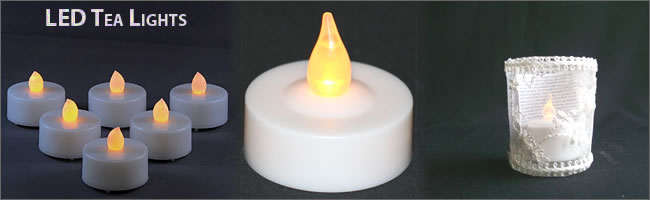 LED tealights for sale | Ideal weddings