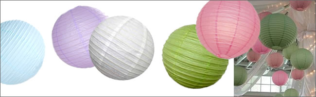 Paper lanterns for weddings on sale, Auckland