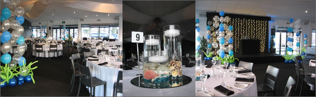 Nautical themed centrepieces for hire, Auckland