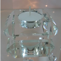 Diamonf crystal square tealight hire, Auckland Centrepiece Hire
